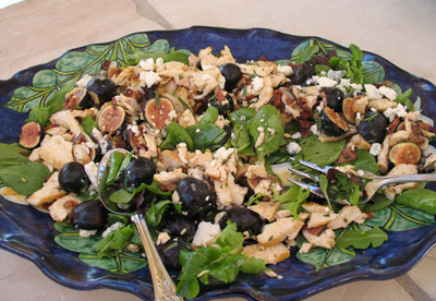 Kim's beautiful salad - October 2008