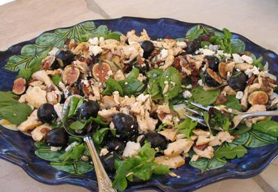 Kim's beautiful salad - October 2008