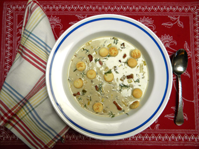 clam-scallop chowder