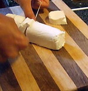 dental floss goat cheese
