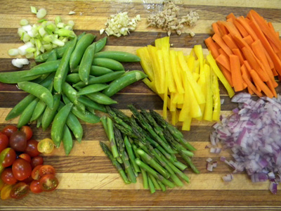 stirfry veggies