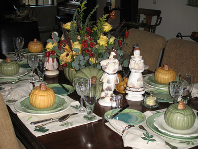 Thanksgiving Table 07