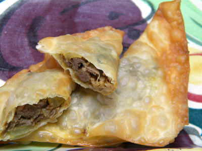 Jamaican Beef Dumplings Recipe — Dishmaps
