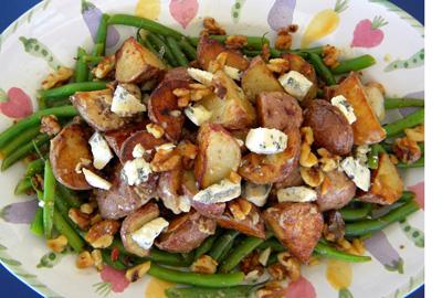 potato-bean salad