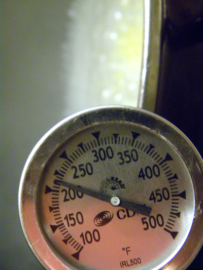 sugar syrup reaches 220 degrees