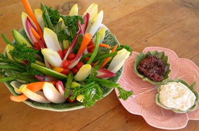 True Food Kitchen Crudite crudités garden — les petites gourmettes