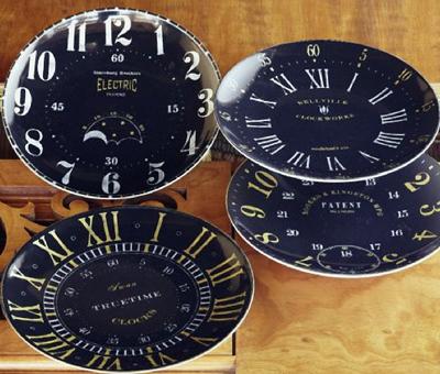 2010 PB clock plates