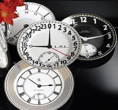 RL clock plates