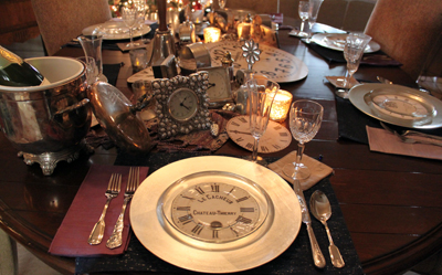 head placesetting