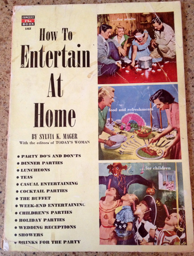 how to entertain at home
