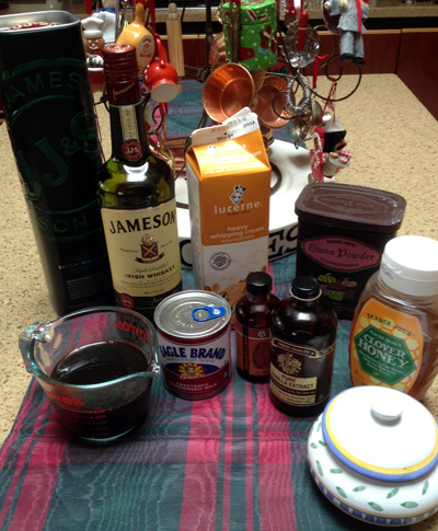irish cream ingredients