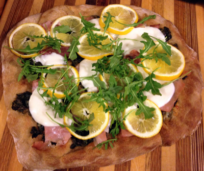 Meyer Lemon Pizza