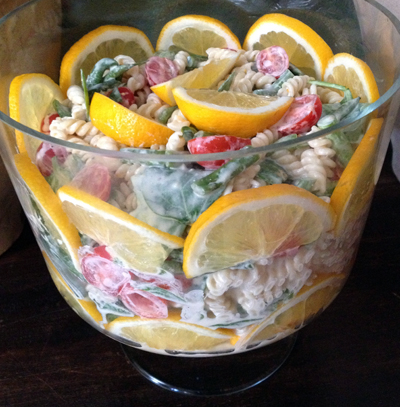 recipe: meyer lemon pasta salad [36]