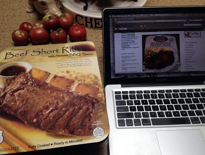 prepared short ribs
