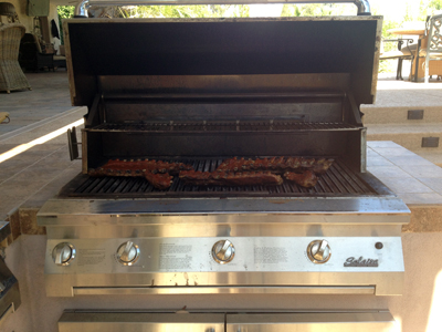 grilling ribs
