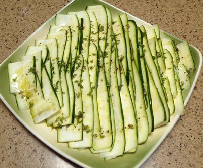 marinate zucchini