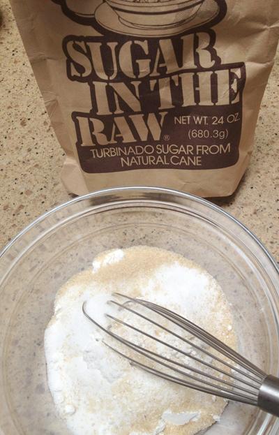 raw sugar