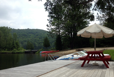 lake house dock