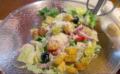 All You Can Eat Olive Garden Salad
