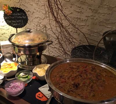 chili buffet