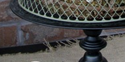 cloche pedestal