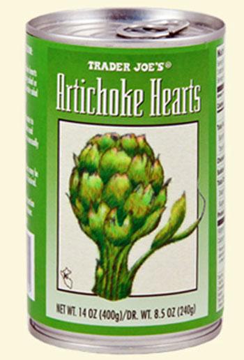artichoke hearts