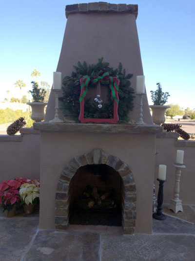 frame and bell wreath 11