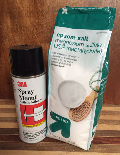 spray and salt
