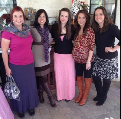 Cassie, Jill, Michelle, Tram and Stacey