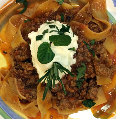 Pappardelle with Lamb Ragu1