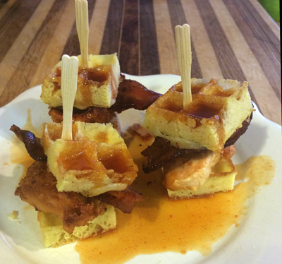 chicken and waffle sliders2