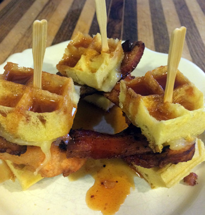 chicken and waffle sliders3