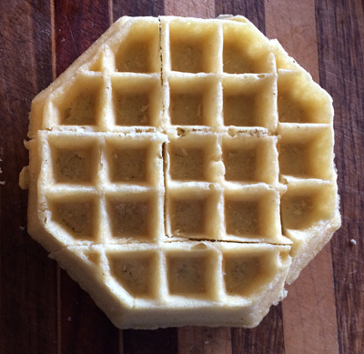 stop sign waffle