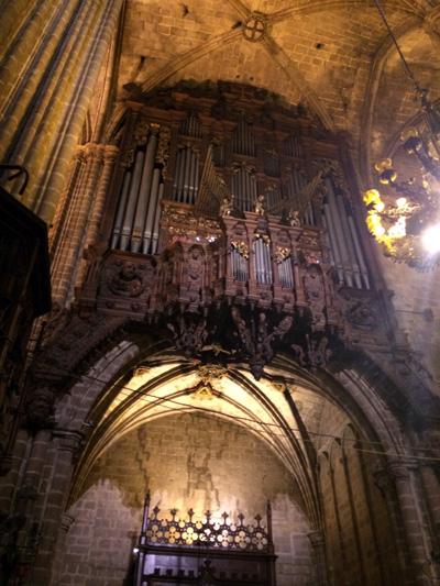 Catedral de Barcelona organ