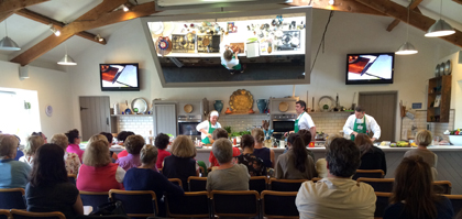 Demonstration Kitchen ballymaloe cookery school and ballymaloe house — les petites