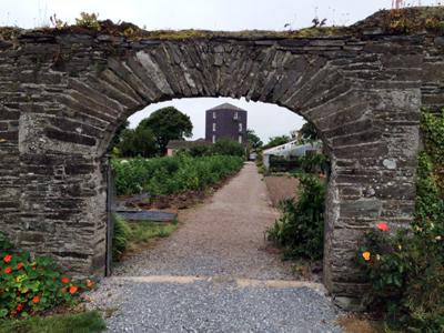 Ballymaloe garden arch
