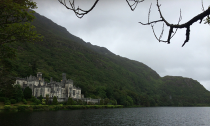 Kylemore Abby and Cathedral