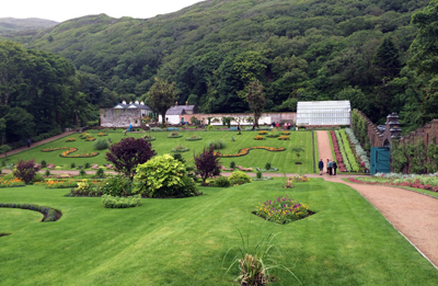 Kylemore gardens
