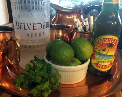 moscow mule fixings