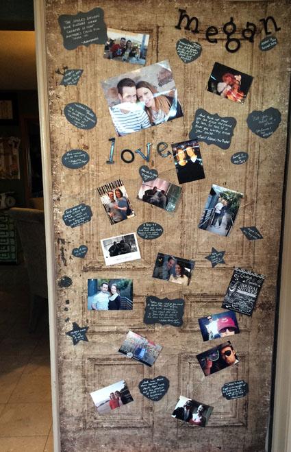 canvas door