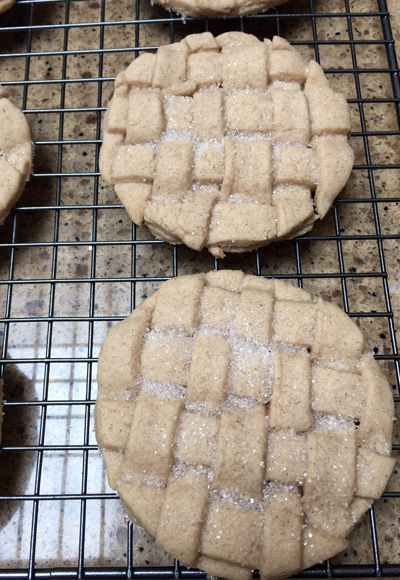 lattice cookie