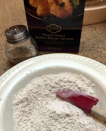 seasoned flour panko