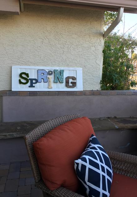 spring patio