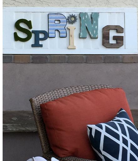 spring sign
