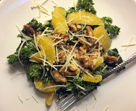 Binkley's Crushed Kale Salad