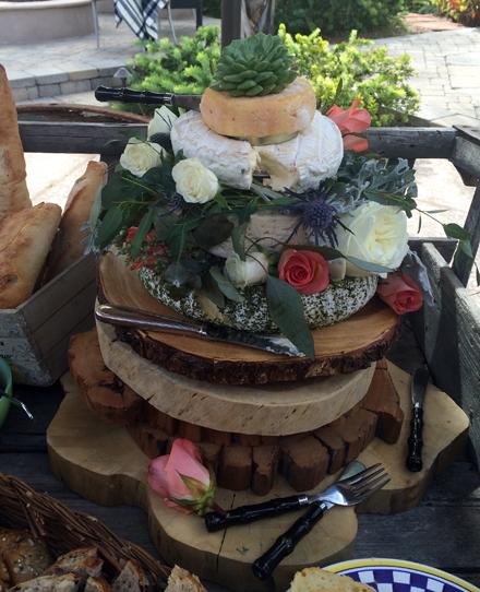 Layered Cheese Cake