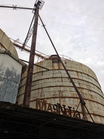 The silo sign