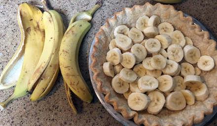 bananas on bottom