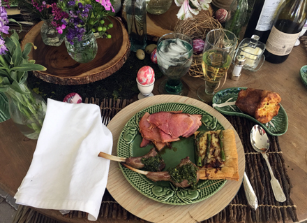 easter supper