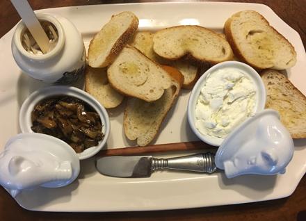 garlic and cheese